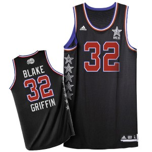 Los Angeles Clippers Blake Griffin #32 2015 All Star Authentic Maillot d'équipe de NBA - Noir pour Homme