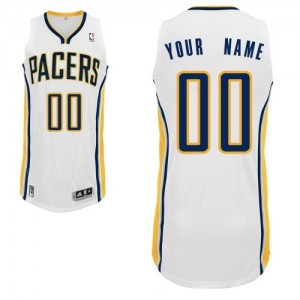 Maillot Indiana Pacers NBA Home Blanc - Personnalisé Authentic - Homme