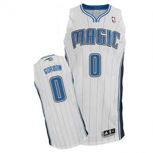 Maillot NBA Blanc Aaron Gordon #0 Orlando Magic Home Authentic Homme Adidas