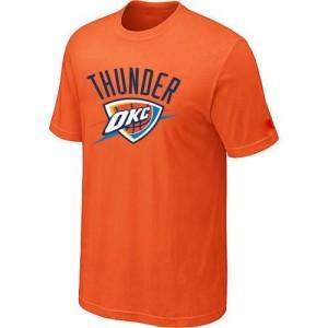 Oklahoma City Thunder Big & Tall Orange T-Shirts d'équipe de NBA la meilleure qualité - pour Homme
