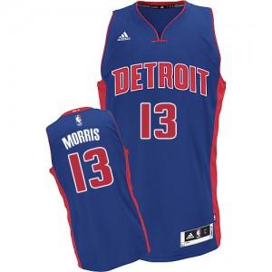 Maillot Swingman Detroit Pistons NBA Road Bleu royal - #13 Marcus Morris - Homme