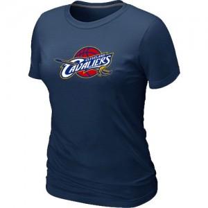 T-Shirts NBA Cleveland Cavaliers Marine Big & Tall - Femme