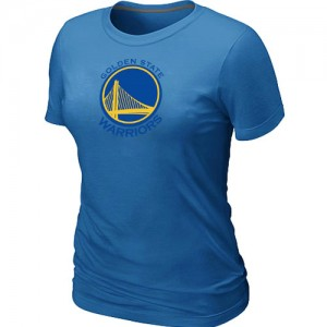 T-Shirts NBA Bleu clair Golden State Warriors Big & Tall Femme
