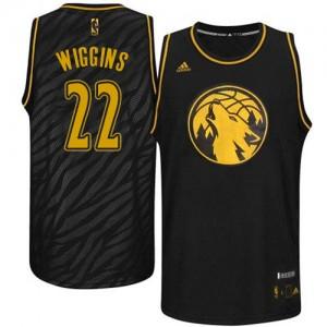 Maillot NBA Swingman Andrew Wiggins #22 Minnesota Timberwolves Precious Metals Fashion Noir - Homme