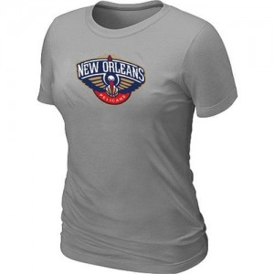 T-Shirts Gris Big & Tall New Orleans Pelicans - Femme