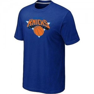 New York Knicks Big & Tall T-Shirts d'équipe de NBA - Bleu pour Homme