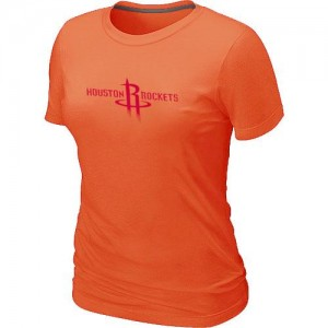 Houston Rockets Big & Tall T-Shirts d'équipe de NBA - Orange pour Femme