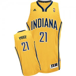 Maillot Adidas Or Alternate Swingman Indiana Pacers - A.J. Price #21 - Homme