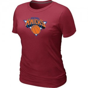 T-Shirts NBA Rouge New York Knicks Big & Tall Femme