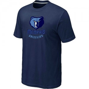 T-Shirts NBA Memphis Grizzlies Marine Big & Tall - Homme