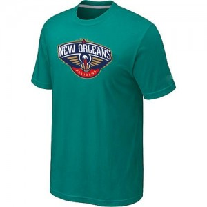 T-shirt principal de logo New Orleans Pelicans NBA Big & Tall Aqua Green - Homme