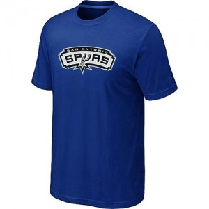 T-Shirts NBA San Antonio Spurs Big & Tall Bleu - Homme