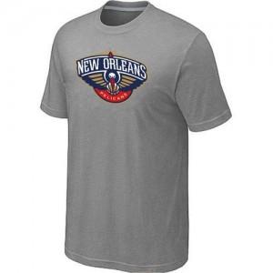 T-shirt principal de logo New Orleans Pelicans NBA Big & Tall Gris - Homme