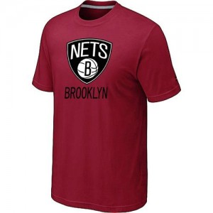 T-Shirts NBA Brooklyn Nets Rouge Big & Tall - Homme