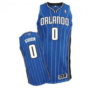 Maillot NBA Bleu royal Aaron Gordon #0 Orlando Magic Road Authentic Homme Adidas