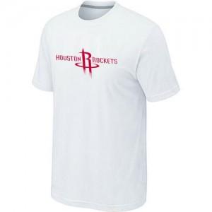 T-shirt principal de logo Houston Rockets NBA Big & Tall Blanc - Homme