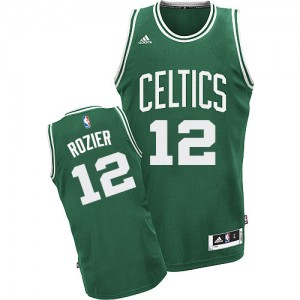 Maillot NBA Boston Celtics #12 Terry Rozier Vert (No Blanc) Adidas Swingman Road - Homme