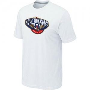 T-shirt principal de logo New Orleans Pelicans NBA Big & Tall Blanc - Homme