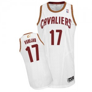 Maillot NBA Authentic Anderson Varejao #17 Cleveland Cavaliers Home Blanc - Homme