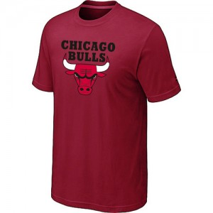 T-Shirts Rouge Big & Tall Chicago Bulls - Homme