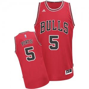 Maillot Swingman Chicago Bulls NBA Road Rouge - #5 Bobby Portis - Homme