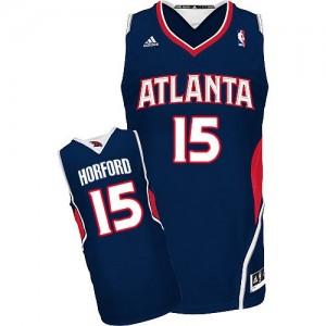 Maillot Swingman Atlanta Hawks NBA Road Bleu marin - #15 Al Horford - Homme