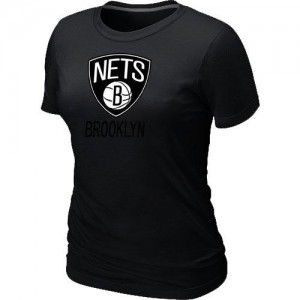 T-Shirts NBA Brooklyn Nets Noir Big & Tall - Femme