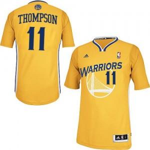 Maillot NBA Or Klay Thompson #11 Golden State Warriors Alternate Swingman Femme Adidas