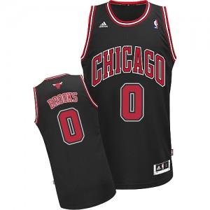 Chicago Bulls #0 Adidas Alternate Noir Swingman Maillot d'équipe de NBA prix d'usine en ligne - Aaron Brooks pour Homme