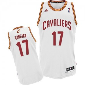 Maillot NBA Blanc Anderson Varejao #17 Cleveland Cavaliers Home Swingman Homme Adidas