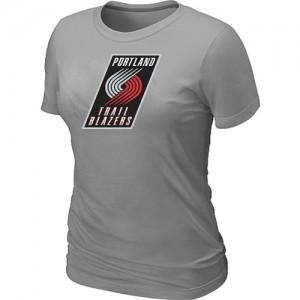 Portland Trail Blazers Big & Tall T-Shirts d'équipe de NBA - Gris pour Femme