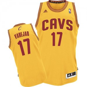 Maillot NBA Cleveland Cavaliers #17 Anderson Varejao Or Adidas Swingman Alternate - Homme