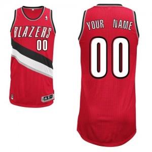 Maillot NBA Authentic Personnalisé Portland Trail Blazers Alternate Rouge - Femme