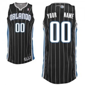 Maillot NBA Orlando Magic Personnalisé Authentic Noir Adidas Alternate - Femme