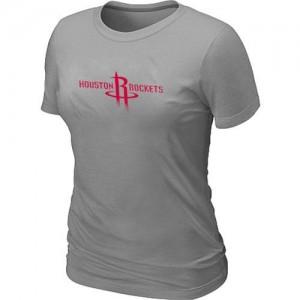 Houston Rockets Big & Tall T-Shirts d'équipe de NBA - Gris pour Femme