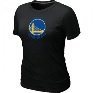 Golden State Warriors Big & Tall T-Shirts d'équipe de NBA - Noir pour Femme