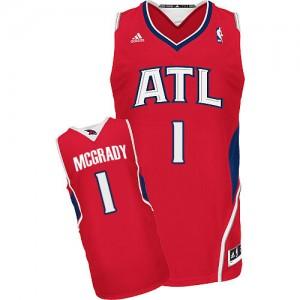 Maillot Swingman Atlanta Hawks NBA Alternate Rouge - #1 Tracy Mcgrady - Homme