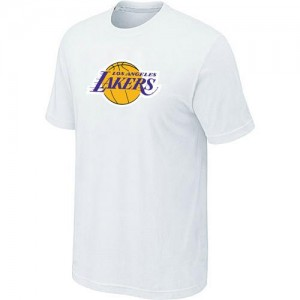 T-Shirts Blanc Big & Tall Los Angeles Lakers - Homme