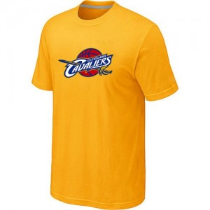T-Shirts NBA Cleveland Cavaliers Big & Tall Jaune - Homme