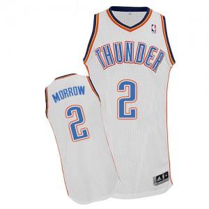 Maillot NBA Authentic Anthony Morrow #2 Oklahoma City Thunder Home Blanc - Homme
