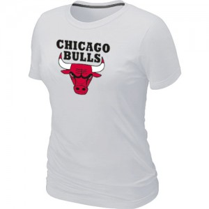 T-Shirts NBA Chicago Bulls Blanc Big & Tall - Femme