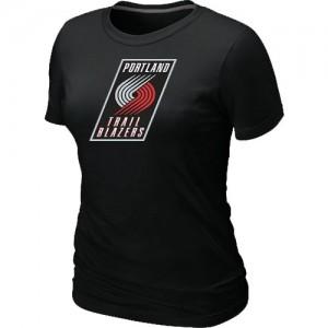 Portland Trail Blazers Big & Tall T-Shirts d'équipe de NBA - Noir pour Femme