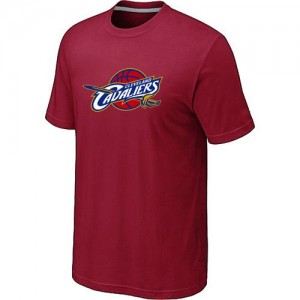 T-Shirts NBA Cleveland Cavaliers Big & Tall Rouge - Homme