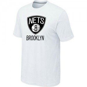 T-Shirts NBA Brooklyn Nets Blanc Big & Tall - Homme