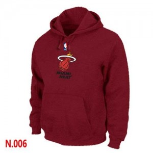 Sweat à capuche Rouge Miami Heat - Homme