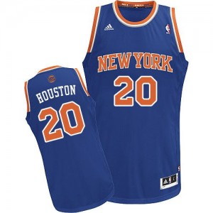 Maillot NBA Swingman Allan Houston #20 New York Knicks Road Bleu royal - Homme