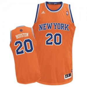 Maillot NBA Swingman Allan Houston #20 New York Knicks Alternate Orange - Homme