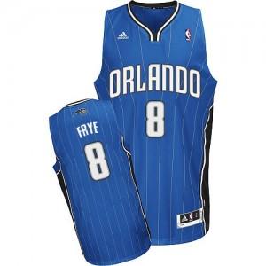 Orlando Magic #8 Adidas Road Bleu royal Swingman Maillot d'équipe de NBA Remise - Channing Frye pour Homme