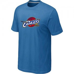 T-Shirts NBA Cleveland Cavaliers Big & Tall Bleu clair - Homme