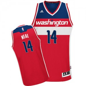Maillot NBA Swingman Gary Neal #14 Washington Wizards Road Rouge - Homme
